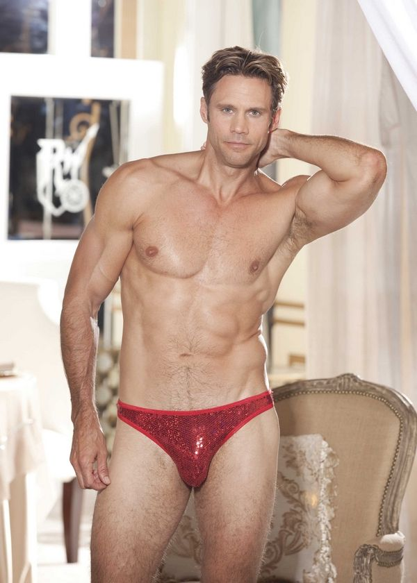 1d75175f33 ... boxer shorts for men with button fly. Maybe you re a male stripper or  just want to look like one  Try this ridiculously sexy red spandex thong  covered ...