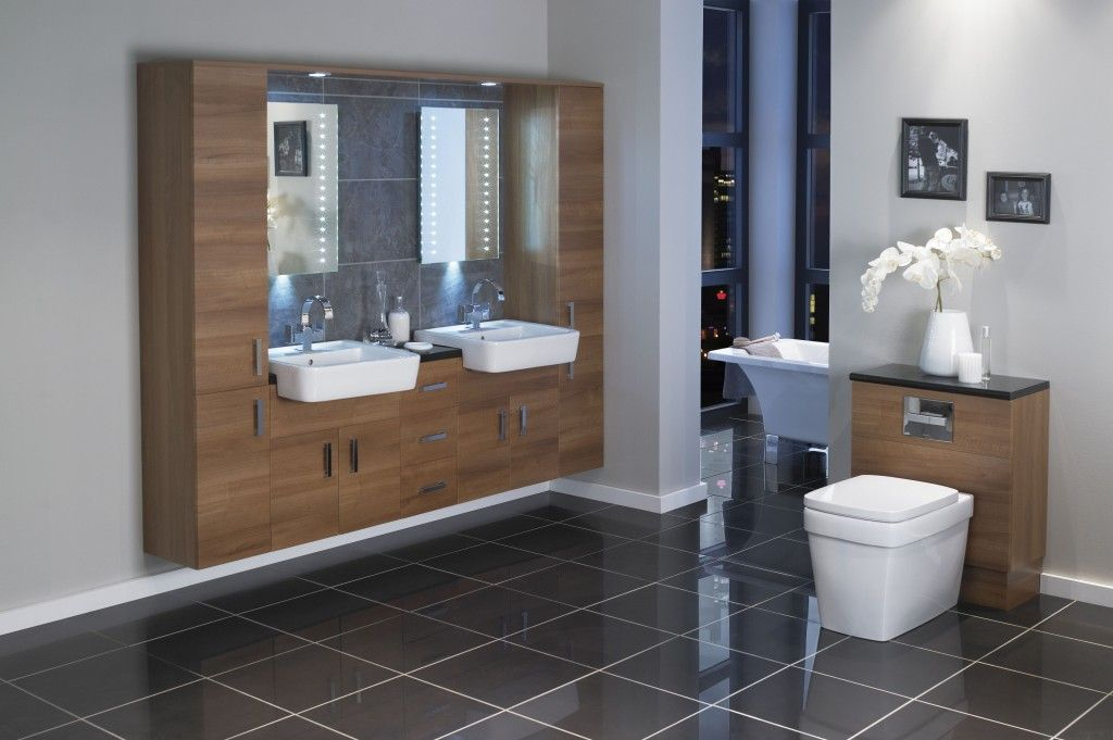 Great Double Basin Vanity Units For Bathroom