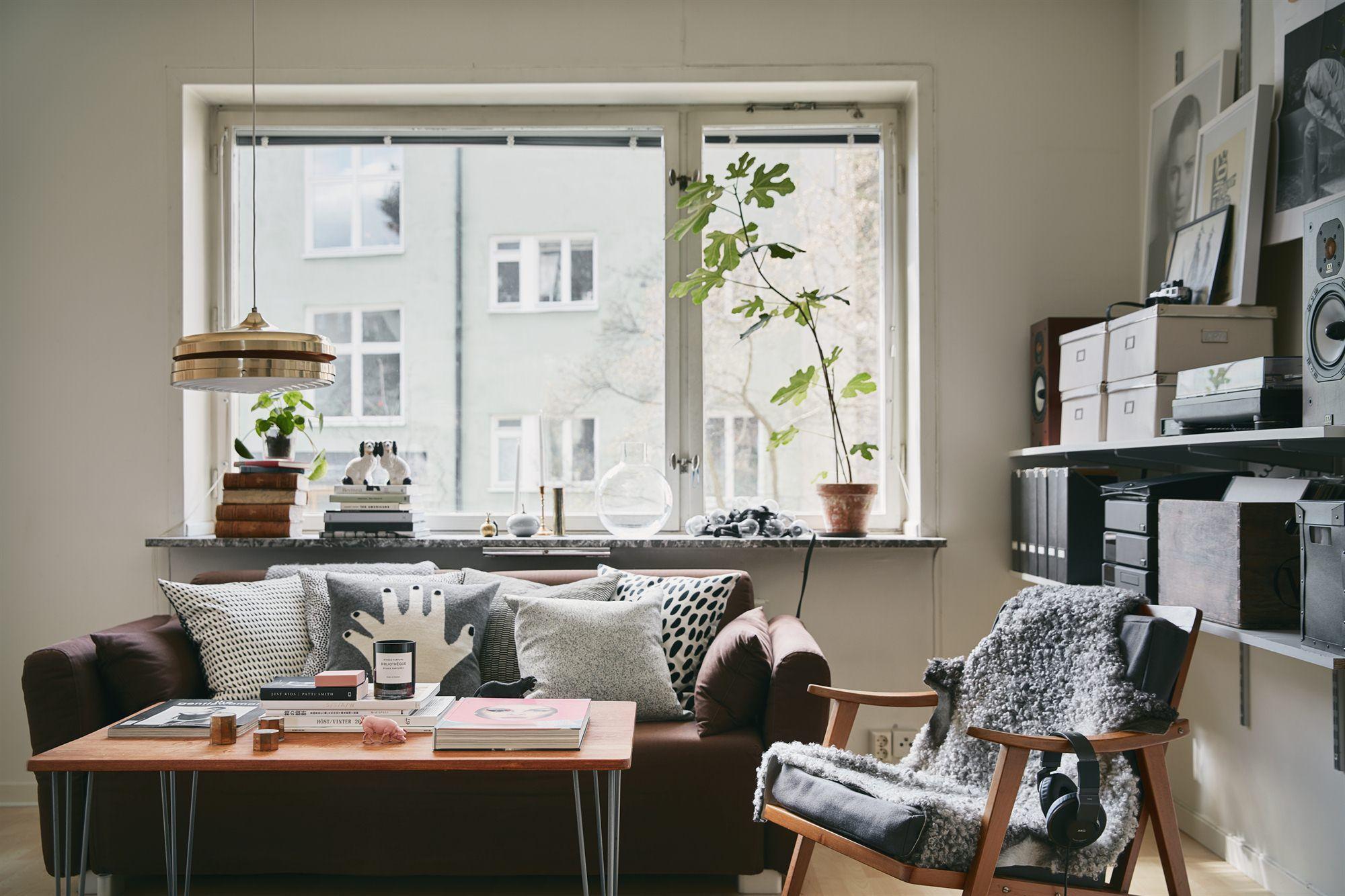 Innenarchitektur wohnzimmer für kleine wohnung per lindeströms väg   fantastic frank  living room  pinterest