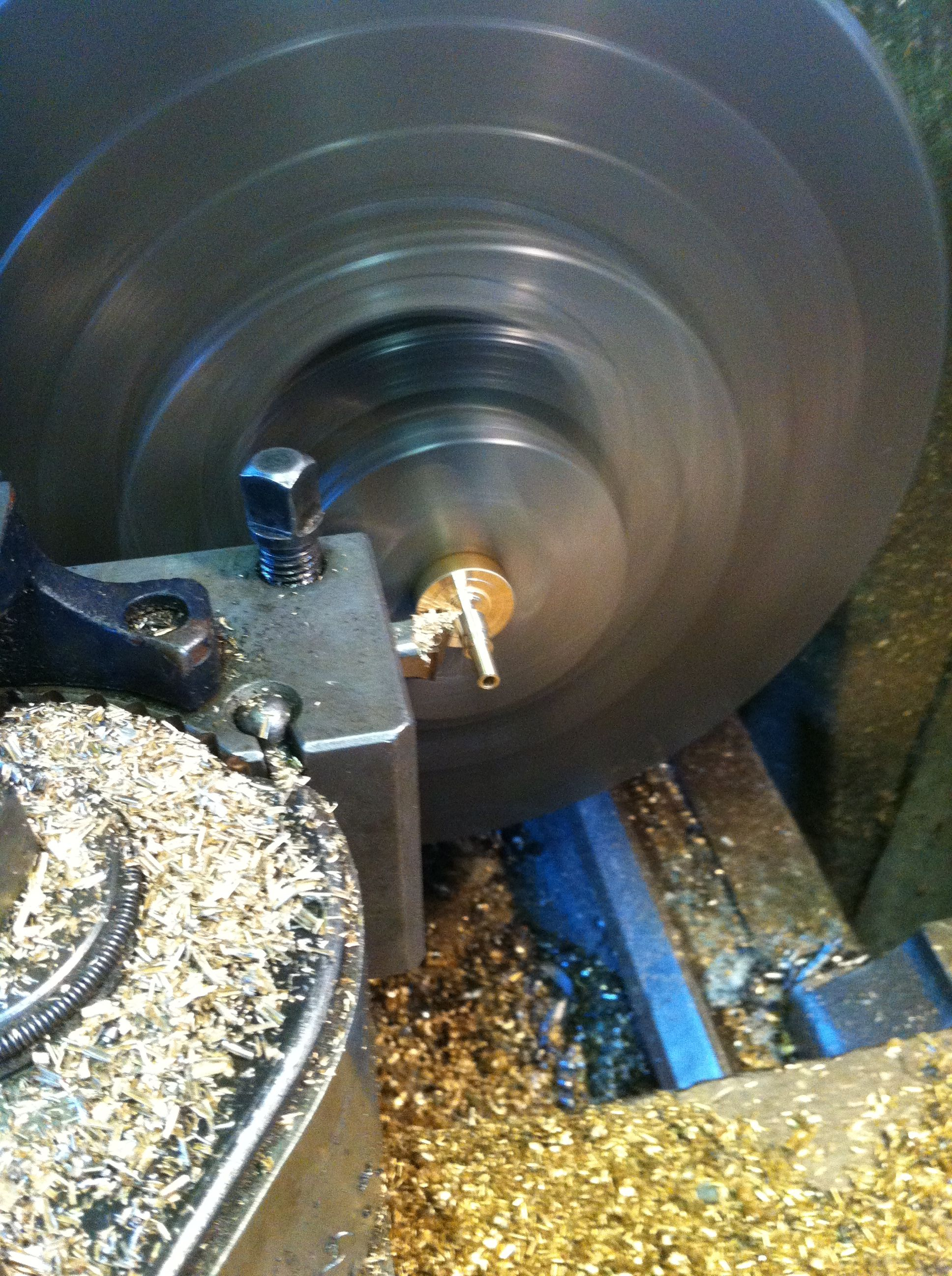 Machining governor parts in the Colchester lathe | Machine