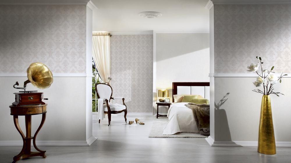 Tapete Barock Ornamente Creme Beige Livingwalls 32830 1 Haus Deko Tapete Grau Weiss Tapete Grau