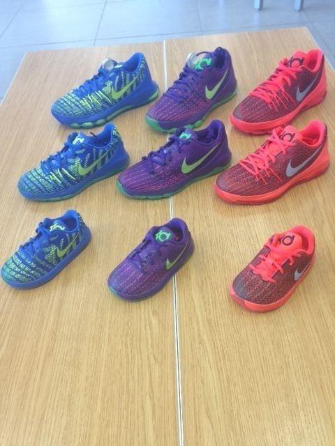 NIKE KD 8 GRADE SCHOOL PRESCHOOL TODDLER SOFT BOTTOM SIZE 1C-7Y #Nike #Athletic