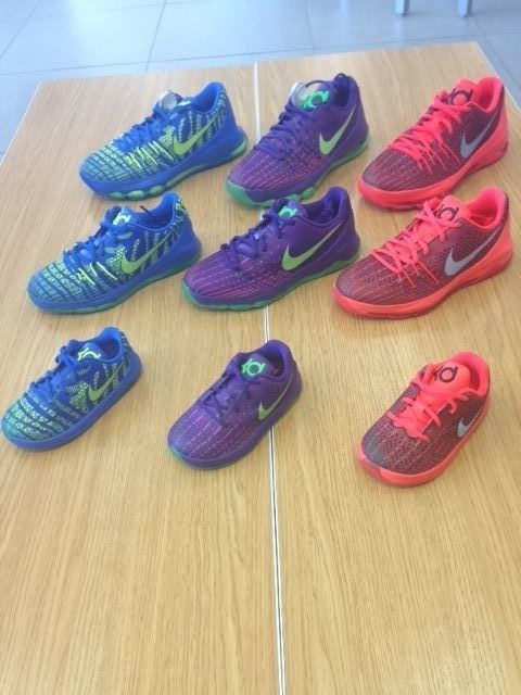 low priced 9b31e f9bd6 NIKE KD 8 GRADE SCHOOL PRESCHOOL TODDLER SOFT BOTTOM SIZE 1C-7Y  Nike   Athletic