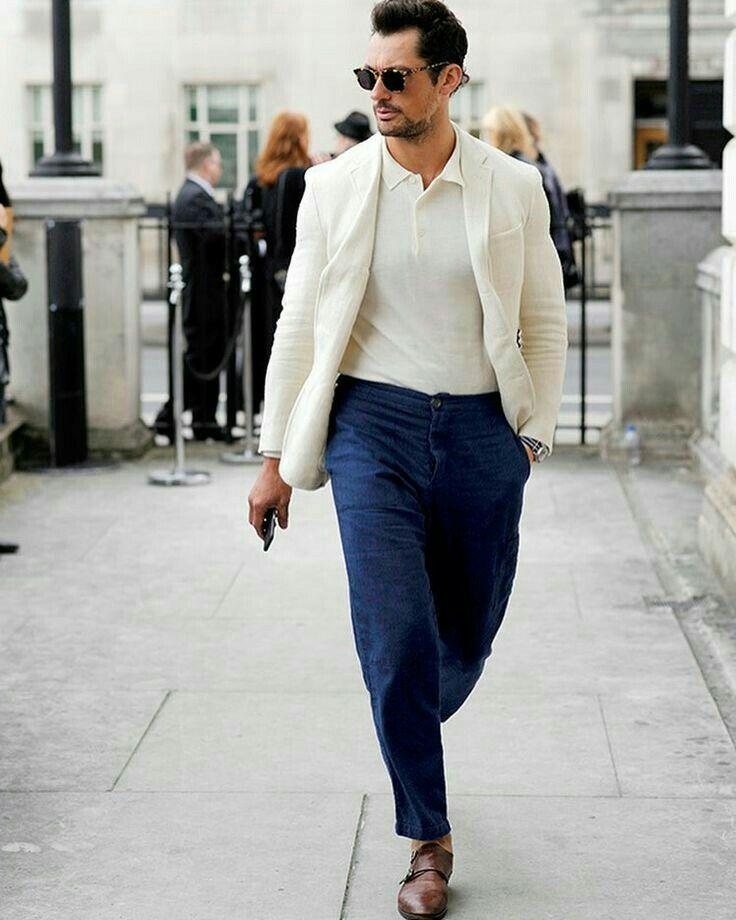 David Gandy at #LFWM 2017 | David gandy style, Cool street ...