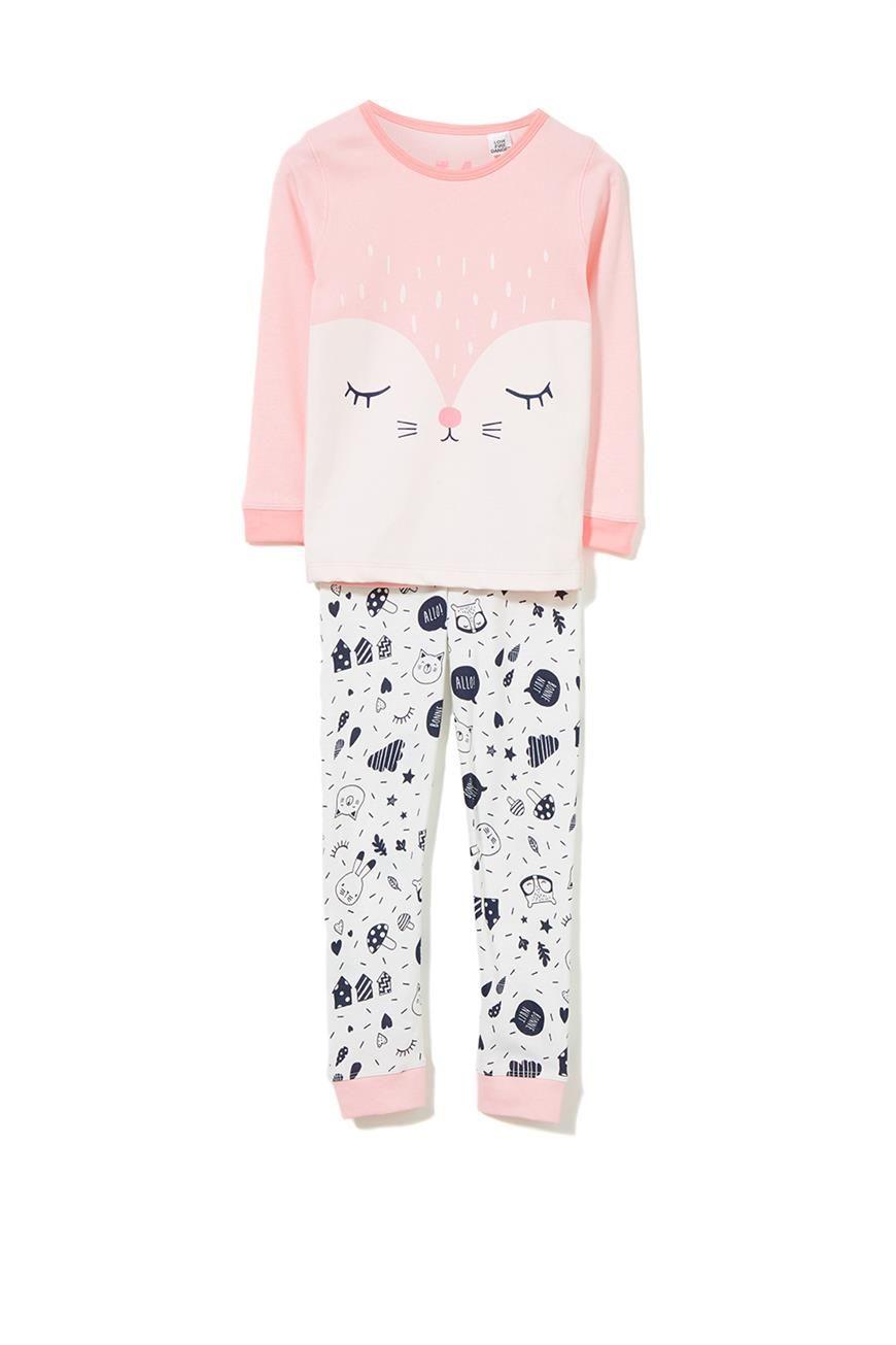 Cotton PJ/'s Organic 3 piece Kid Pyjamas Childrens pajamas Boys /& Girls