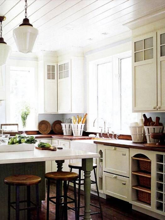 Diese Landhausküche Hat Den Dreh Raus: Rustikaler Charme Gepaart Mit  Modernen Elementen