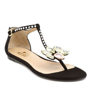 54bfba677ac3 First flats to make this board! Love Moschino Suede Thong Sandal ...