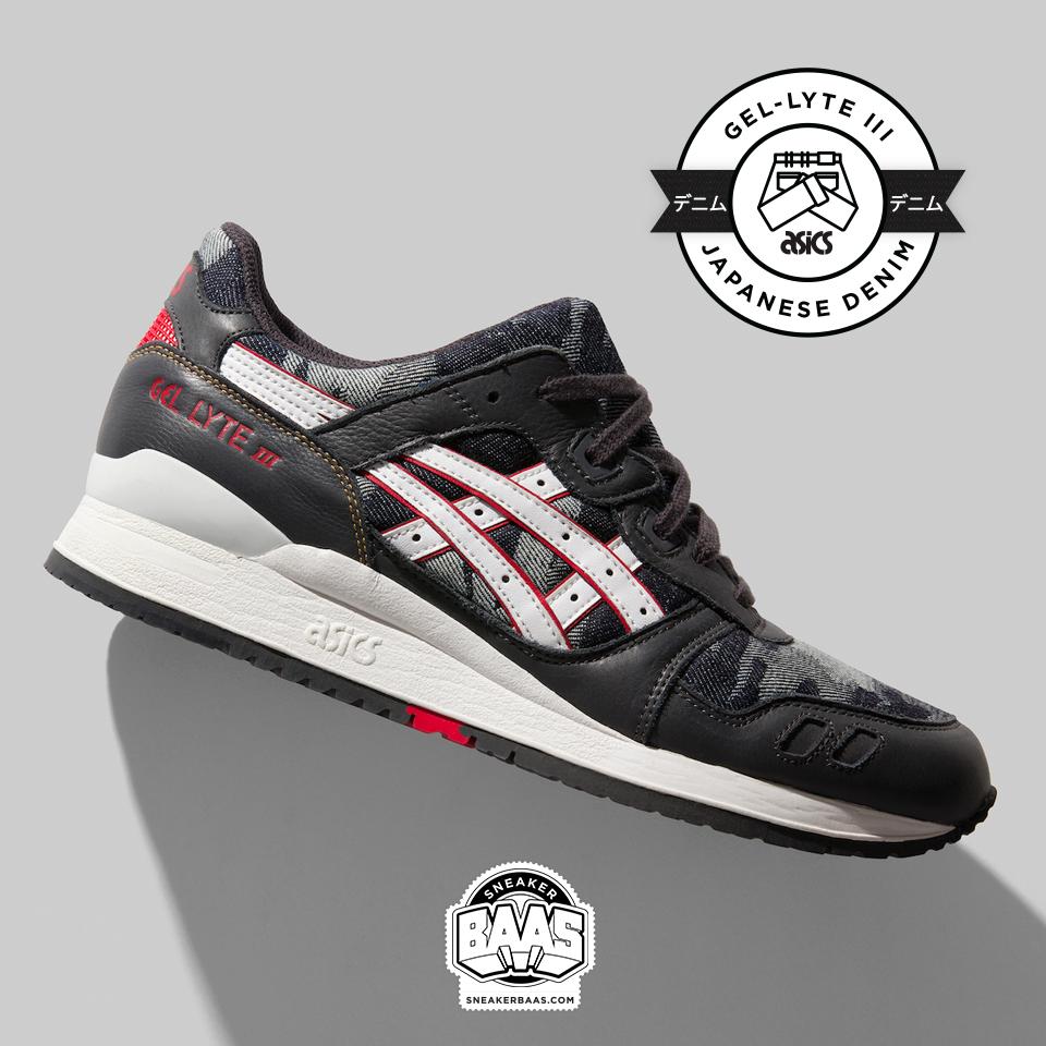 the latest ab557 b52c7  asics  gellyte  gellyteiii  japanisedenim  denim  sneakerbaas   baasbovenbaas Asics Gel
