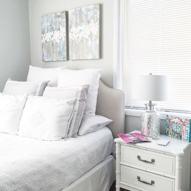 bedroom home decor inspiration white and grey bedroom