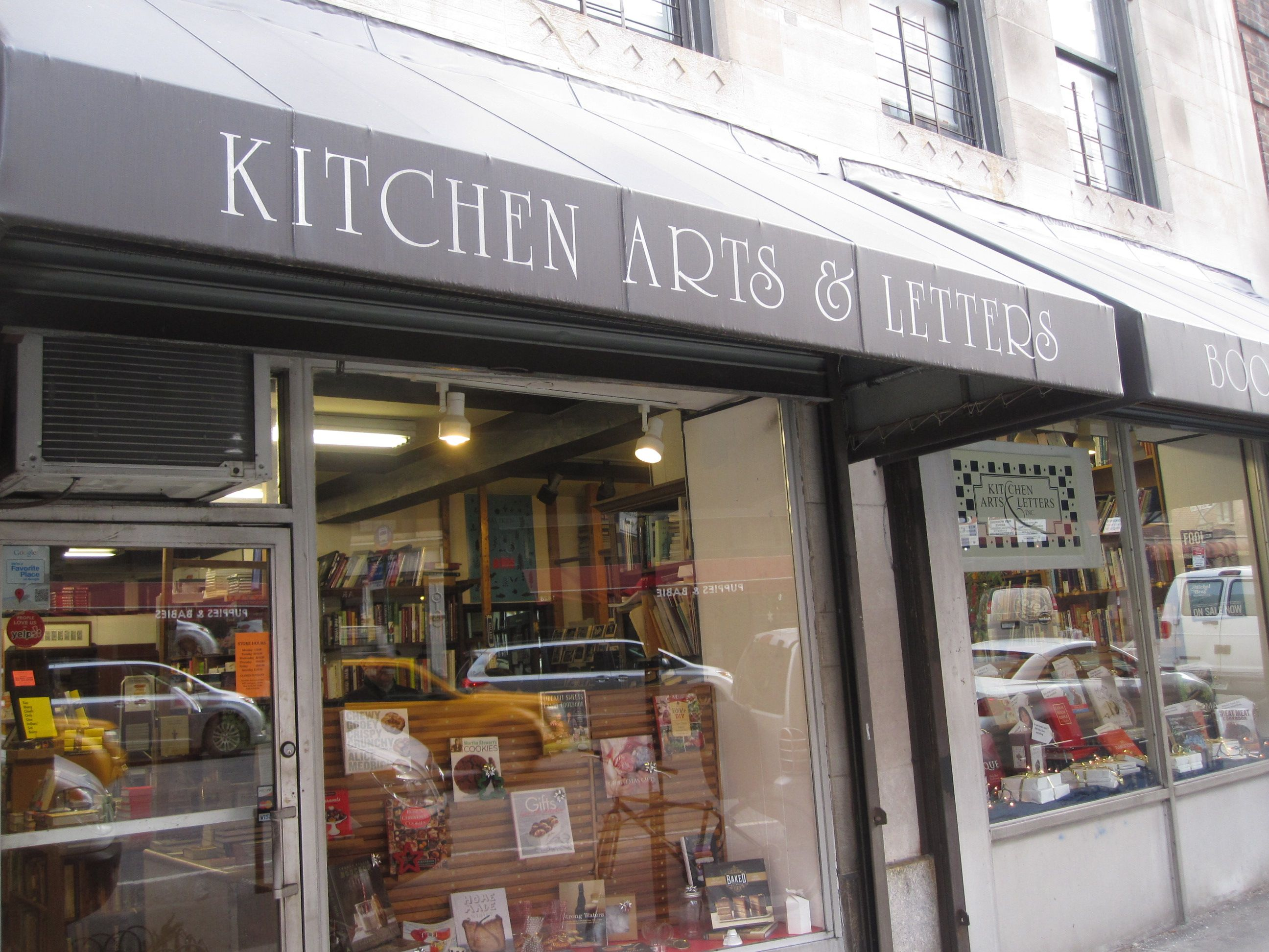 Kitchen Arts And Letters Bookstore Nyc New York