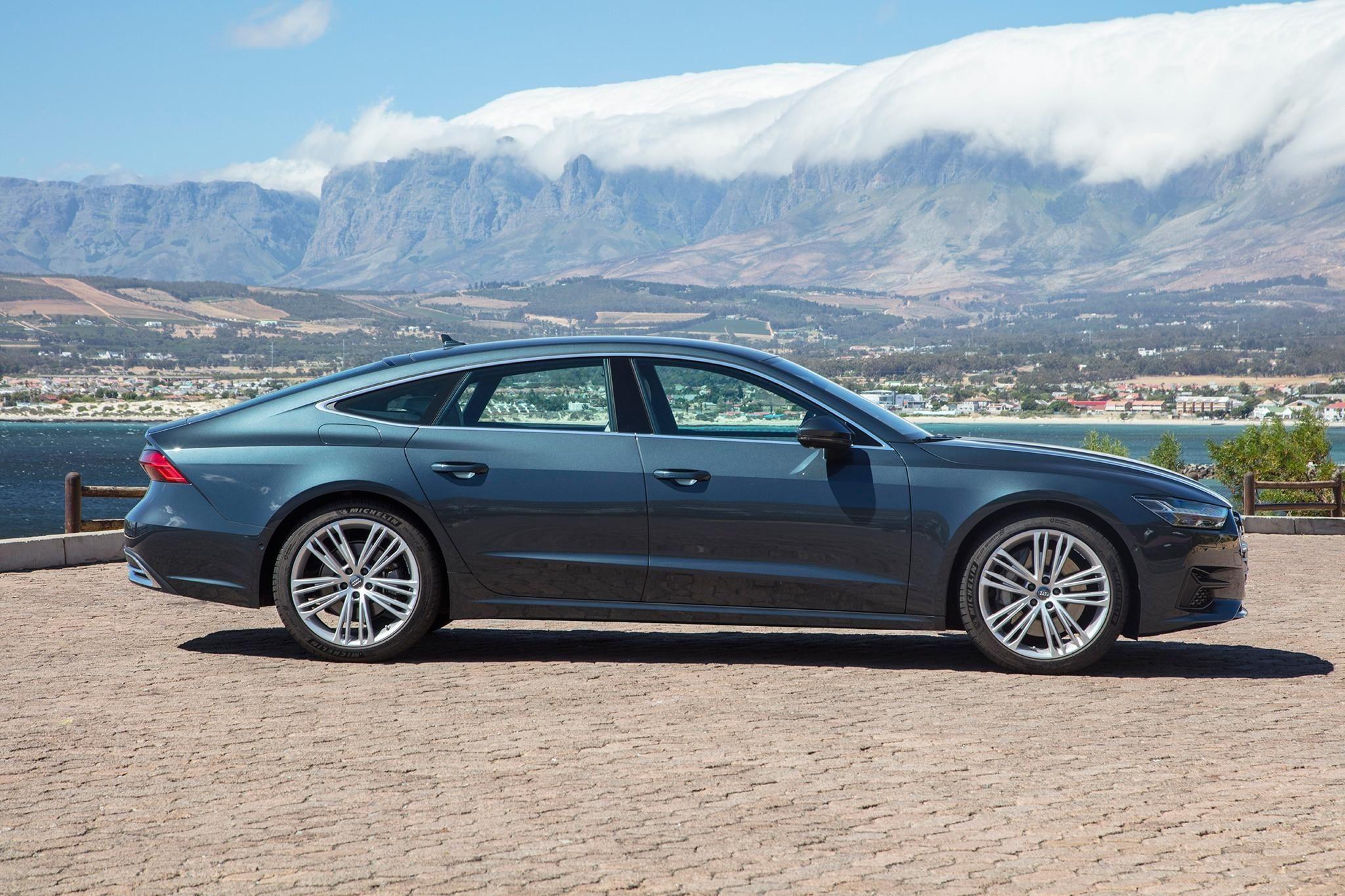 2019 audi a7 sportback first drive review automobile magazine rh pinterest com