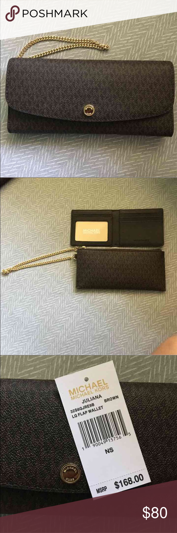 Michael Kors 3 Piece Wallet Brand new. Authentic. No trades. Michael Kors Bags Wallets
