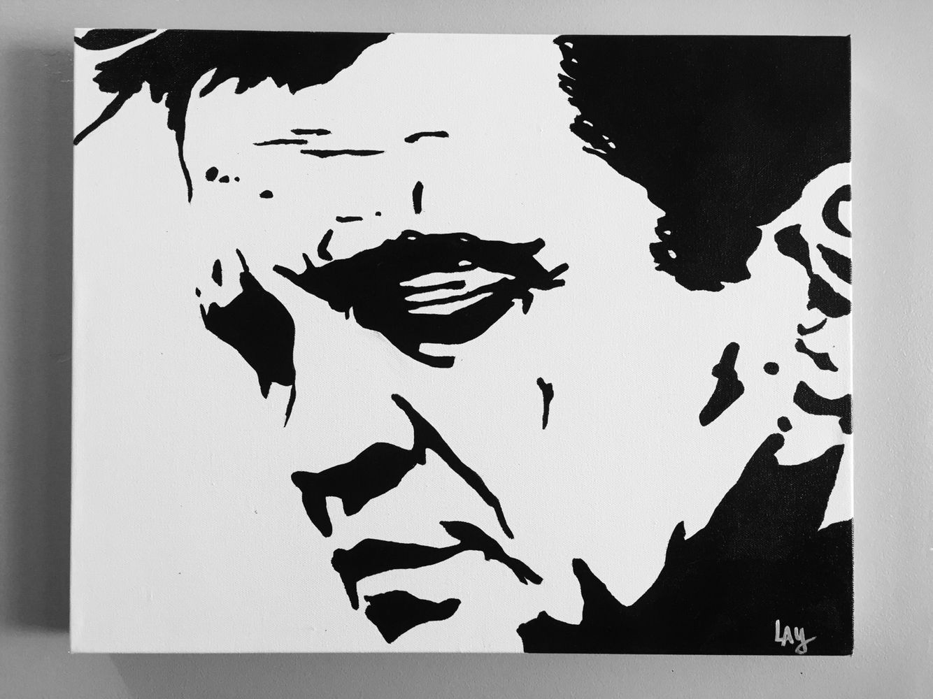 Johnny Cash Painting By Lay LayZArt JohnnyCash Nashville Legend