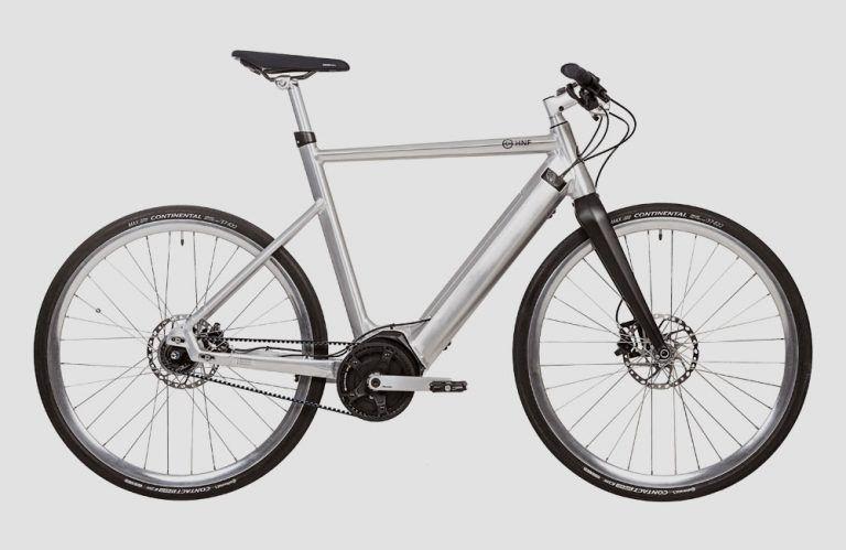 Urban E Bike Mit Bosch Mittelmotor Hnf Nicolai Sd1 Urban