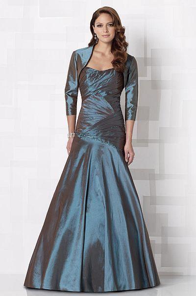 Cameron Blake by Mon Cheri - 212673 Long Dress In Patina | Prom ...