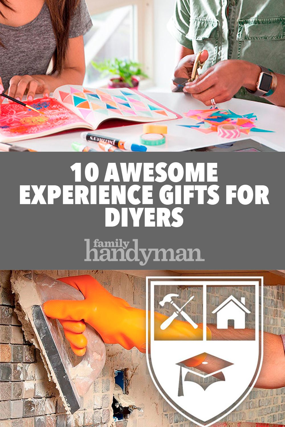 10 Awesome Experience Gifts For Diyers With Images Experience Gifts Gifts 10 Things