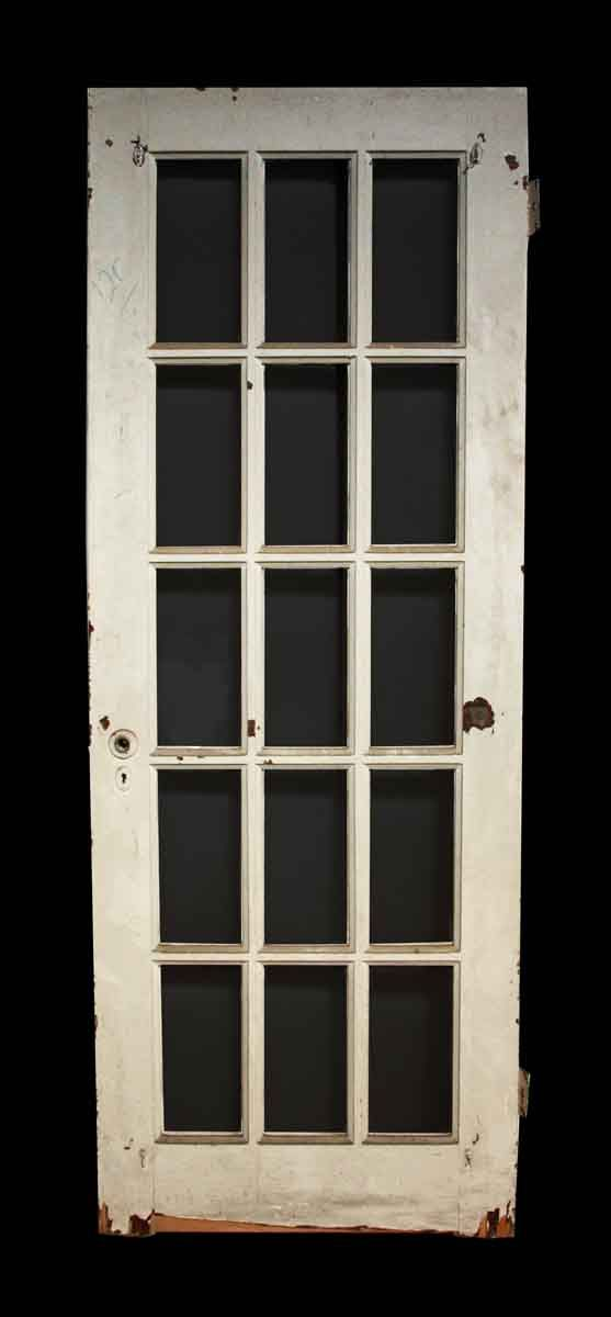 Old Salvaged 15 Lite White French Door Home Office Pinterest