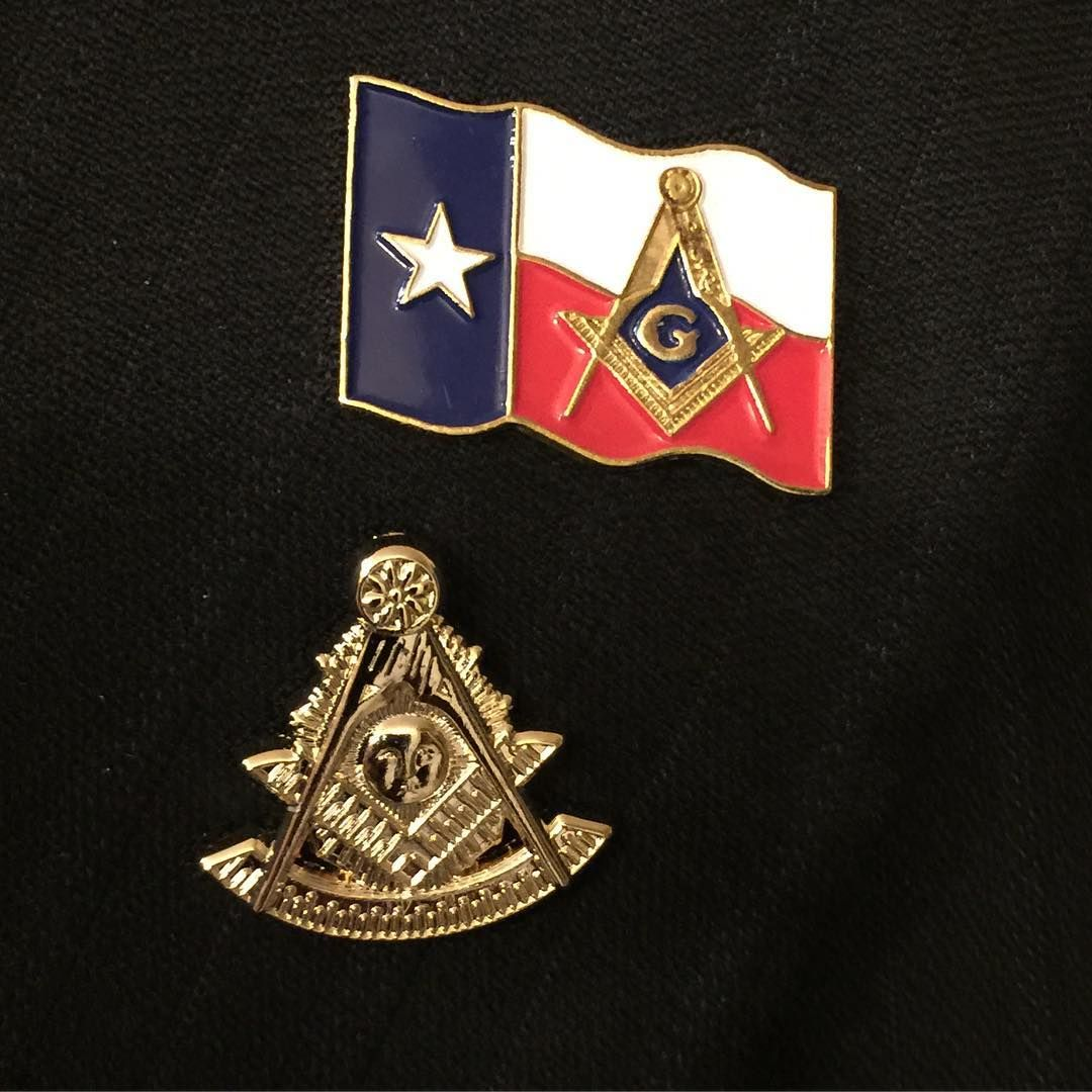 Which is better? Texas Masonic pin or Pastmaster pin