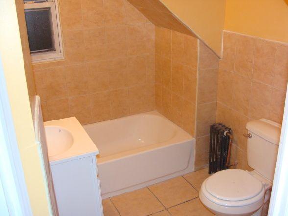 Attic bathroom, Attic bathroom with dormer over toilet, Dormer over toilet  , Bathrooms Design