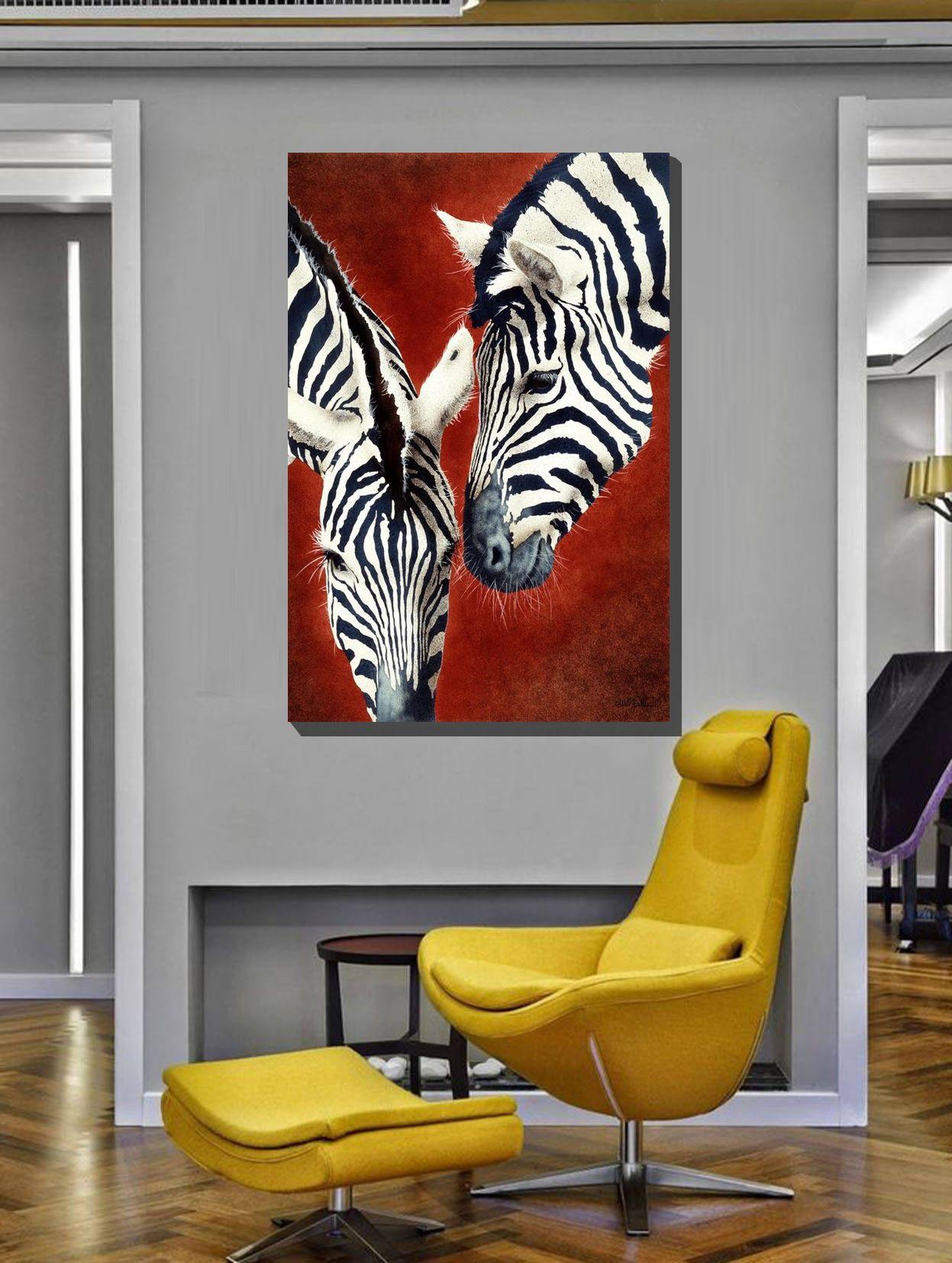 2019 的 Hd Printed Zebra Wall Decor Modern Art Picture ...