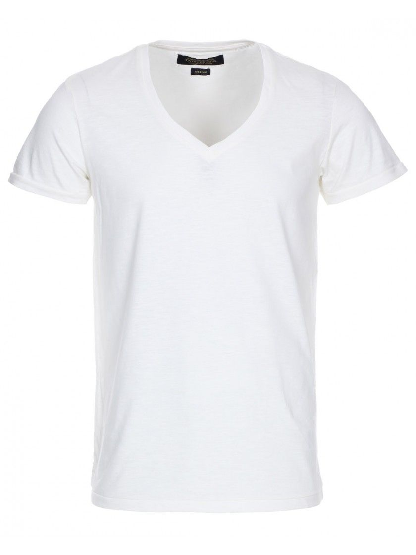 5839807e09c6d4 Men's Twisted Soul Off White V Neck T Shirt | Dress to Impress ...