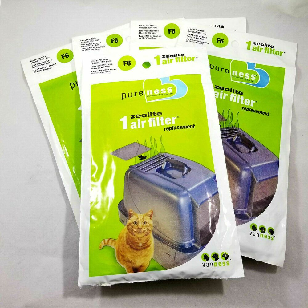 Pureness F6 Zeolite Odor Air Filter Replacement Van Ness