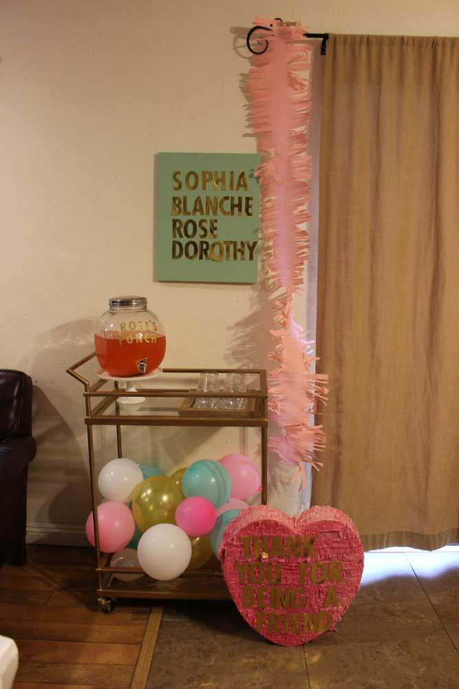 Ladies Dinner Party Ideas Part - 44: The Golden Girls Dinner Party Party Ideas