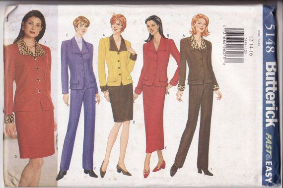 Butterick 5148 Womens Sewing PatternVery Easy by retrochick66, $6.95