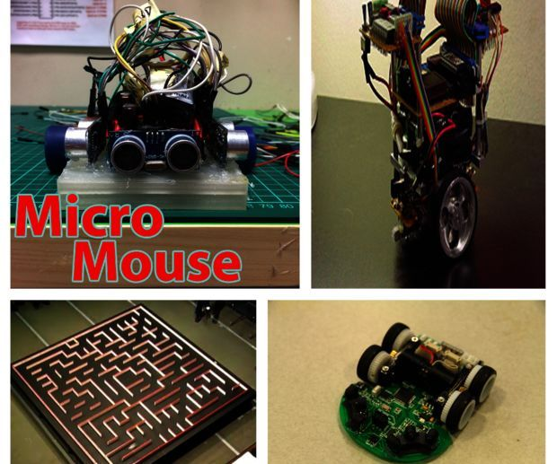 Maze Solver With Arduino and ArduMoto(Micromouse) V:1 2