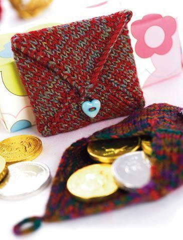 Penny Coin Purse Free Knitting Pattern   Knitting patterns ...