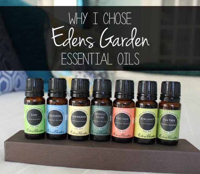 Why I Chose Edens Garden Essential Oils Edens garden