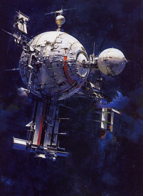 Space Illustrations by John Berkey (1932-2008)
