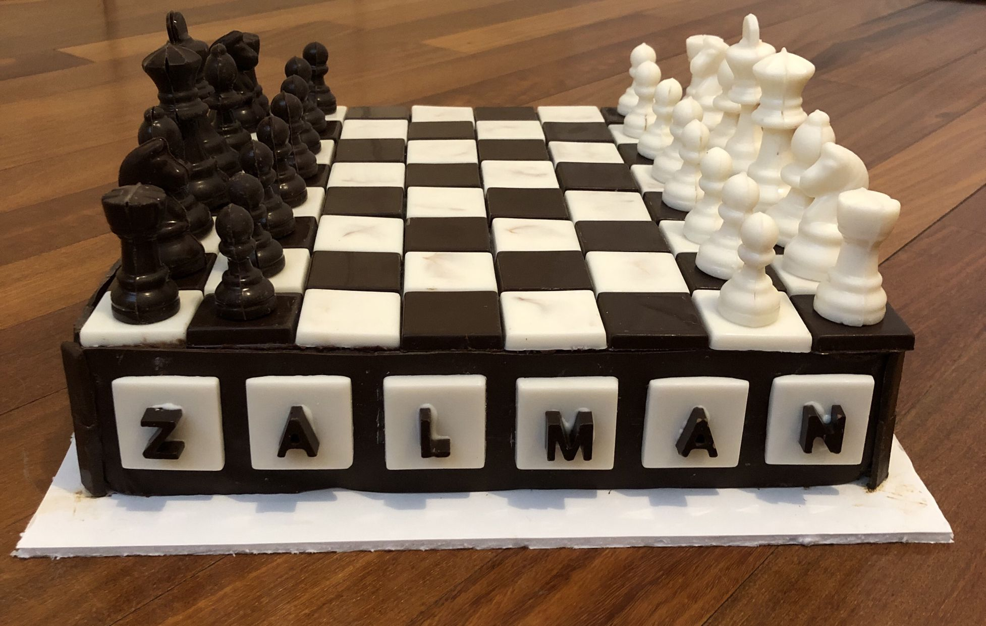 Super Chess Board Chess Cake Chess Board Chocolate Chess Chess Funny Birthday Cards Online Overcheapnameinfo