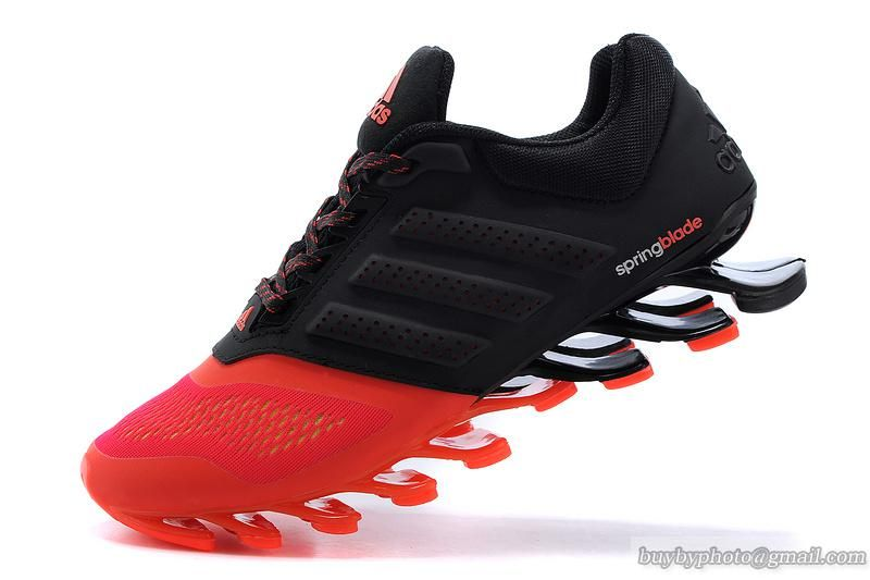 Men\u0027s Adidas Springblade Drive 2.0 Running Shoes Black Red 40-45