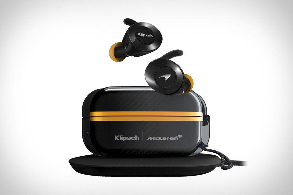 Klipsch X Mclaren T5 Ii True Wireless Earphones In 2020 Wireless Earphones Klipsch Wireless Earbuds