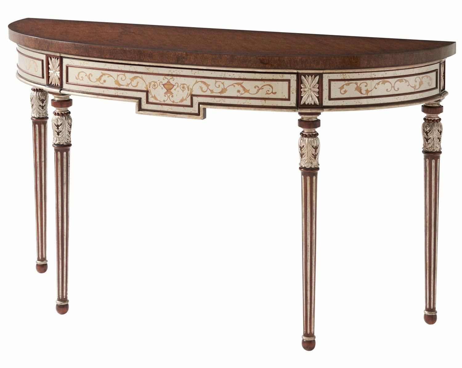 Louis XVI style console table Console Hall tables at Brights of
