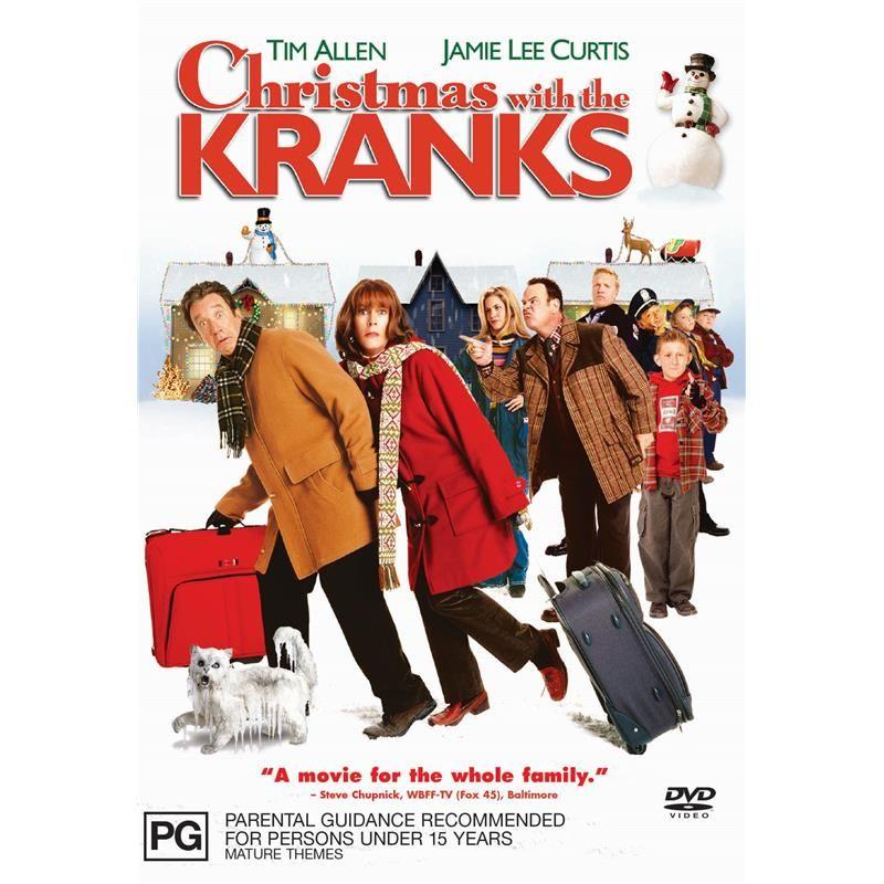 Christmas With The Kranks Dvd Jb Hi Fi Christmas With The Kranks Christmas Family Movie Family Movies