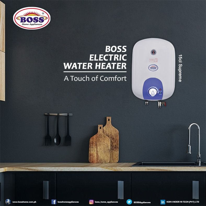 Be Prepared For Winter Buy Boss Electric Water Heater Home Appliances Electric Water Heater Water Heater