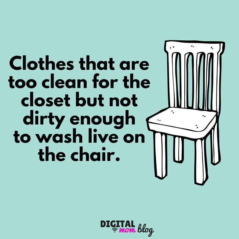 Image result for a chair with clothes memes