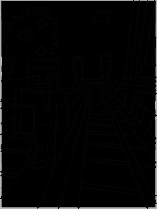 desenhos para colorir do minecraft minecraft pinterest