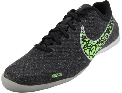 5bef50be085df Nike FC247 Elastico Finale II Indoor Soccer Shoes - Black and Neo  Lime...Available at SoccerPro Now!