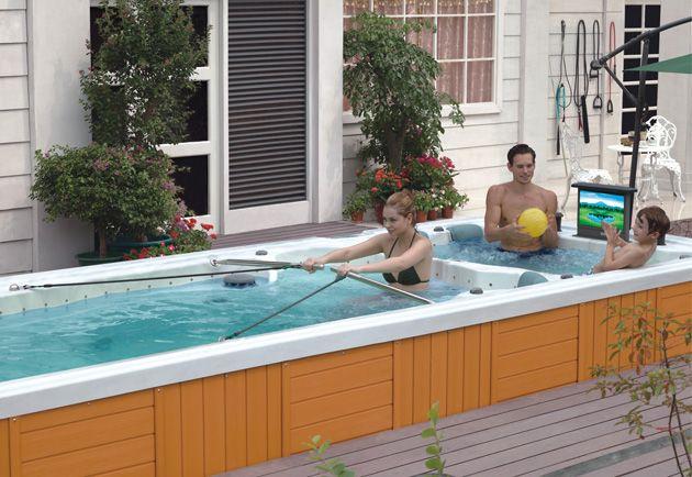 Sportness 6500 Hot Tub Jacuzzi Small Backyard Pools