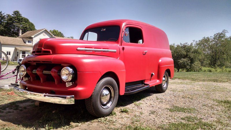b92fab2caf 1951 Ford f1 panel truck for sale by Owner - Grove city