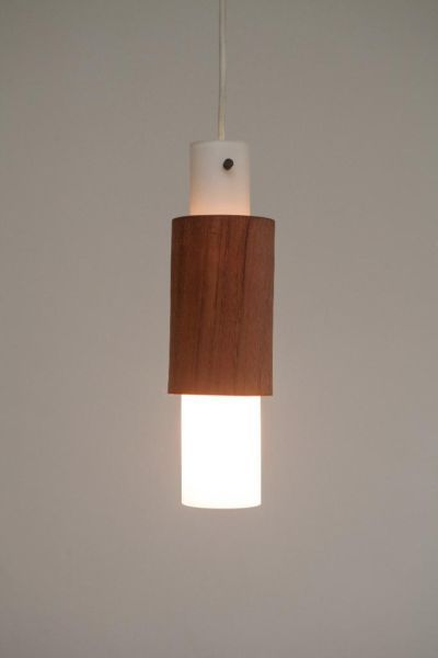 New Mid Century Glass Pendant Light
