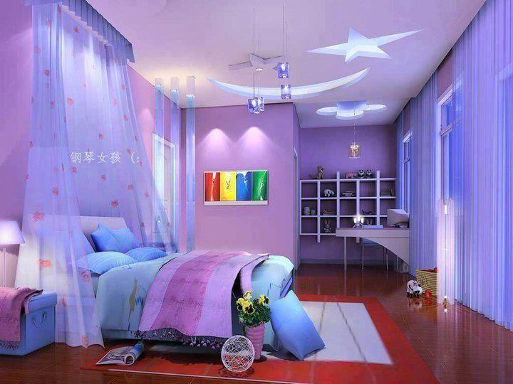 Having A Bedroom Under The Shining Star.romantic!
