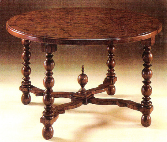 spanish style table colibri custom furniture 5012 mateus
