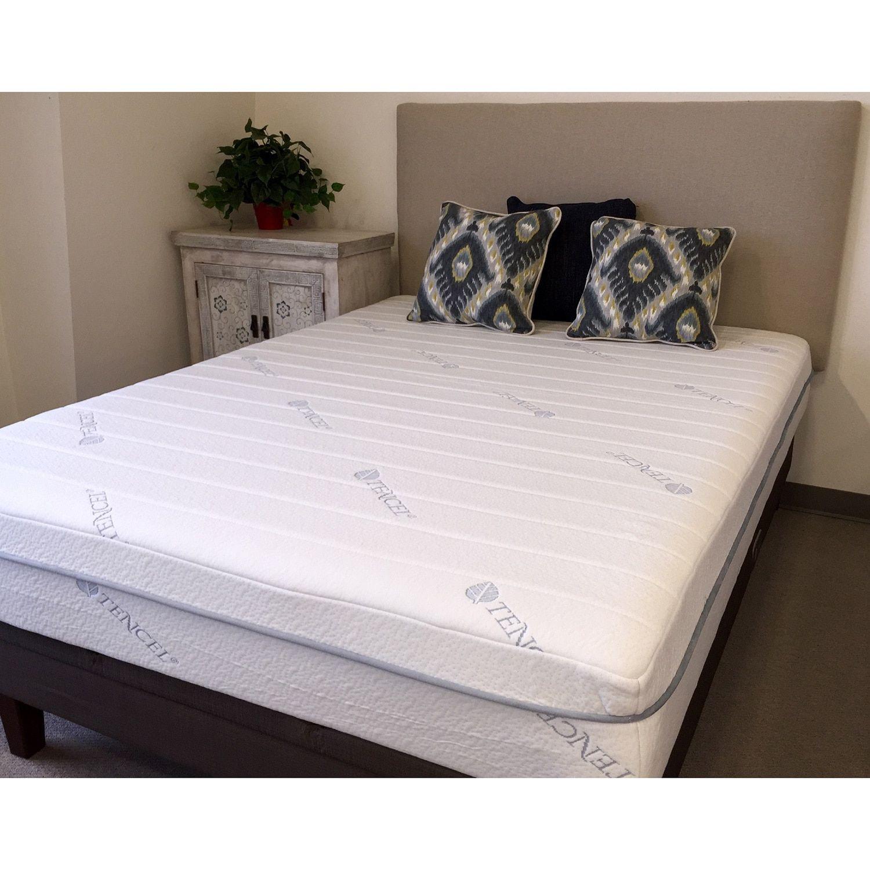 Icon Sleep By Sommette Cool Tencel 11 Inch Twin Xl Size Gel Memory Foam Mattress Comfort Mattress Mattress Foam Mattress