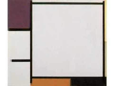 One of my favorite videos on YouTube - A journey through Piet Mondrian's art, set to Phillip Glass.