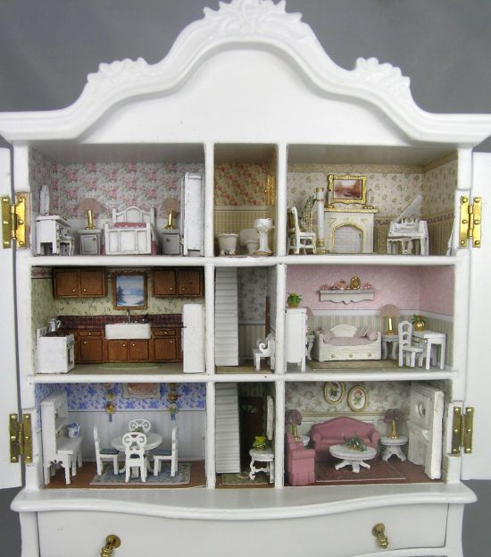 New French Country Baby House Class and Kit
