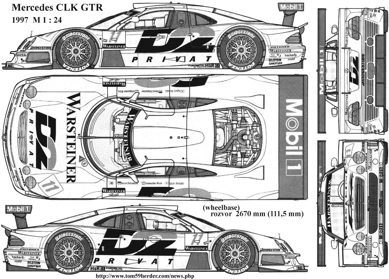 Mercedesclkgtr racing car blueprint pinterest mercedes clk mercedesclkgtr malvernweather Choice Image